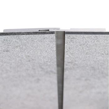 DecoDesign - Zubehör Profil - Plattenstoßprofil - Länge 2540 mm