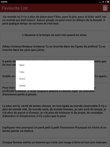 скачать Citations De Cœur Brisé Google Play Softwares