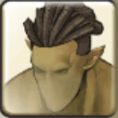 オーク男髪3
