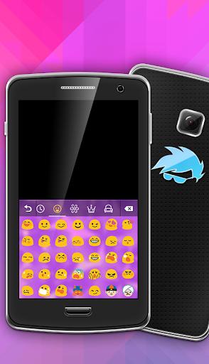 無料个人化AppのラッキーパープルGOキーボード|HotApp4Game