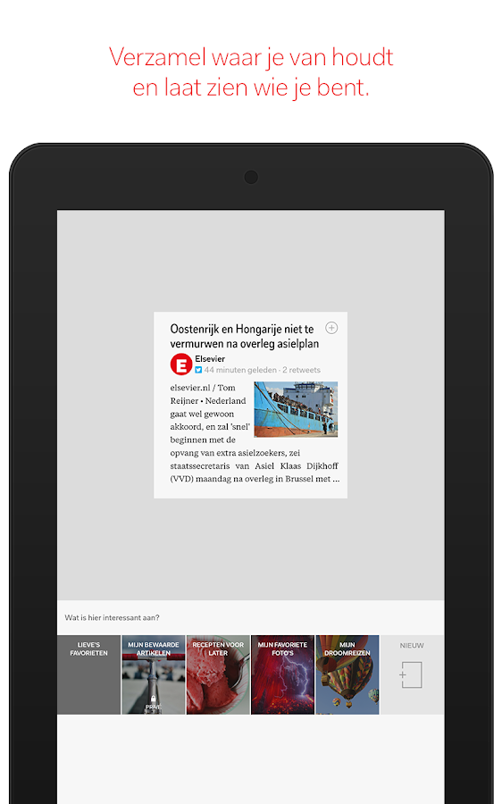 Flipboard: screenshot