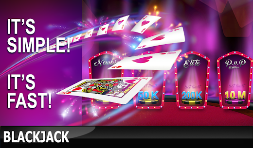 Blackjack: Experience real casino for game 21 1.0.27 Unlocked MOD APK Android 2