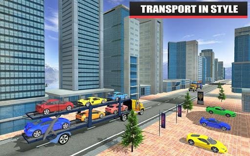 Car Transport Trailer Game - Car Transportation 1.0 screenshots 1