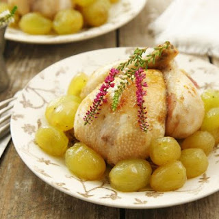 Poussin with Grapes
