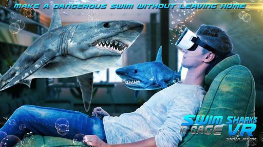 Swim Sharks In Cage VR Simulator 2.1 screenshots 11