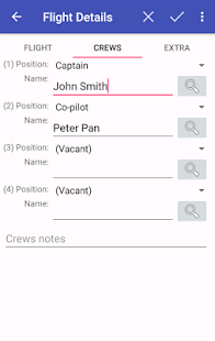intelliPilot - Pilot LogBook- screenshot thumbnail
