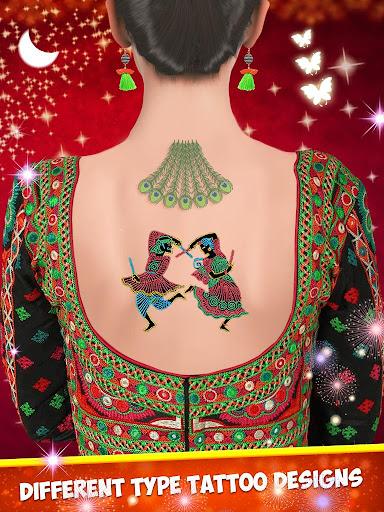 Indian Girl Wedding Makeup Game apkmind screenshots 4