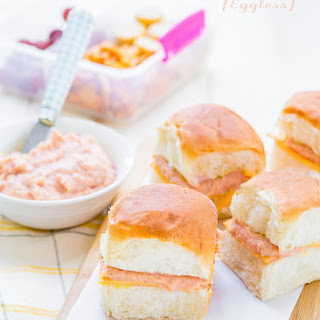 Homemade Eggless Deviled Ham Spread and Other Snacks Ideas for Back to School