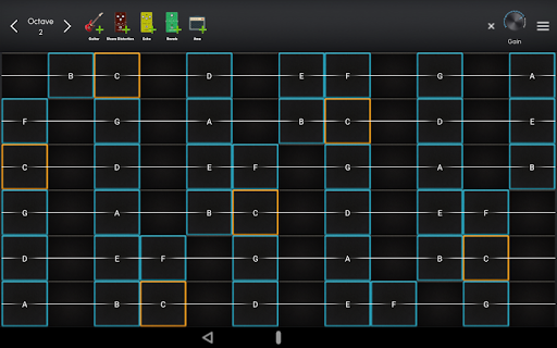Screenshot for MuseLead : Surface Synthesizer in United States Play Store