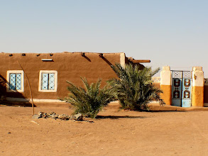 Photo: the typical Sudanese architecture