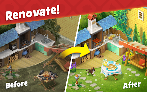 Gardenscapes Mod Apk 5.2.0 (Unlimited Money + Infinity  Stars) 3