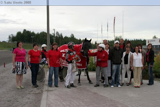 Photo: Lämminveristen Veeruska-ajon voittaja 3.8.2008 Extreme Orion/Tuomo Kantela
