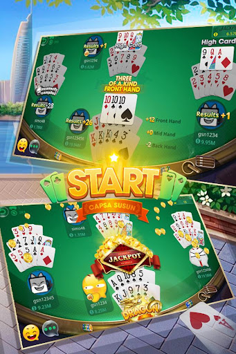 Pusoy - Chinese Poker Online - ZingPlay  screenshots 2