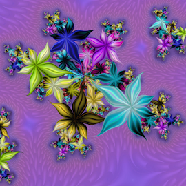 Flowers 16 by Cassy 67 - Illustration Abstract & Patterns ( fractal )