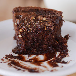 Fudgy Chocolate Chip Yogurt Cake