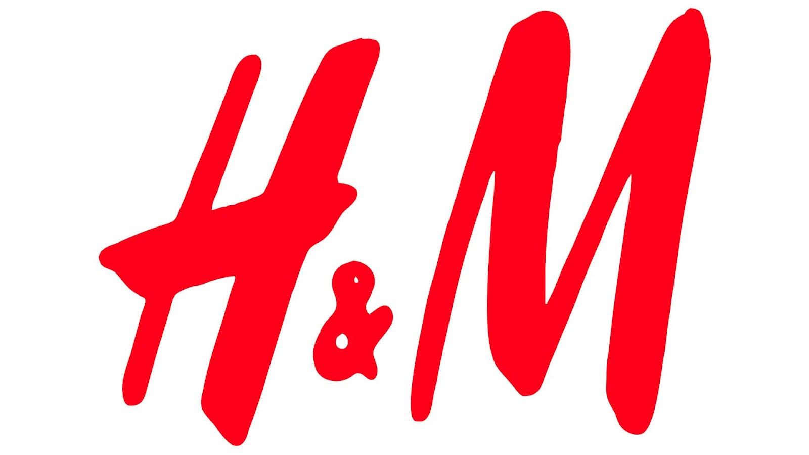 Logo sieci odzieżowej H&M