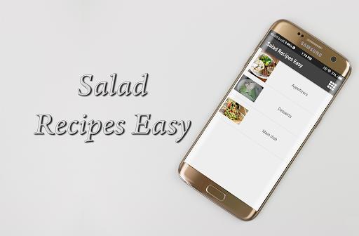 Salad Recipes Easy 1.0 screenshots 4