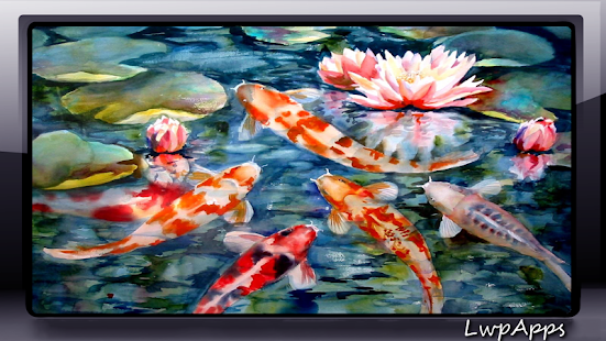 Koi fish wallpaper android apps on google play for Koi fish species