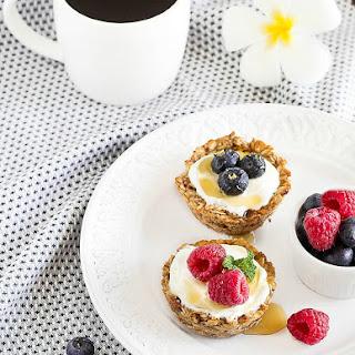 Healthy Breakfast Oatmeal Cups.