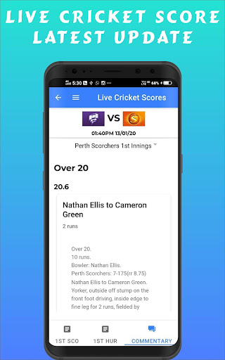 Cricscr - Live Cricket Scores And Cricket News ss3