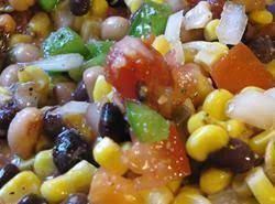 Spicey Chili Bean Corn Salsa Recipe