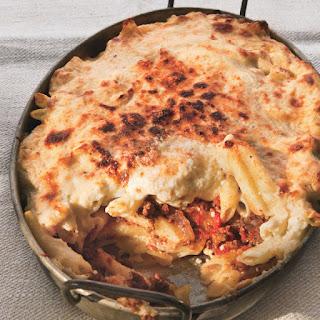 Moroccan-Spiced Pastitsio with Lamb and Feta Recipe