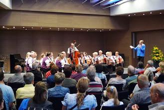 Photo: SGF  Simmental Saanenland bei der Vorstellung