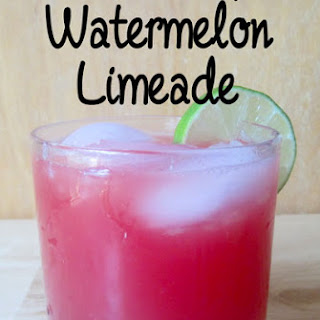 Crisp, Refreshing Watermelon Limeade.