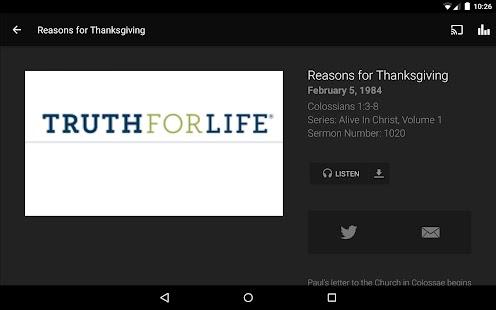 Truth For Life- screenshot thumbnail