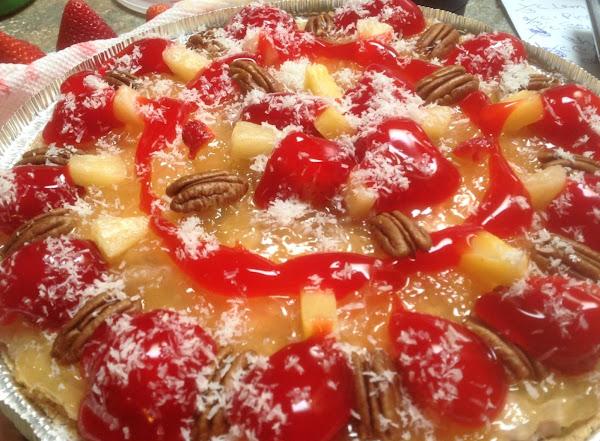 No Bake Tropical Cheesecake Dessert Recipe