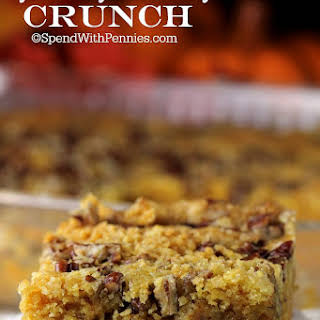 Pumpkin Pie Crunch.