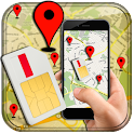 Mobile, SIM and Location Info icon