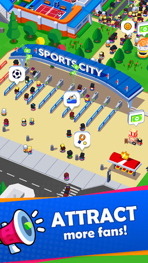 Sports City Tycoon - Idle Sports Games Simulator modavailable screenshots 8