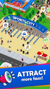 Sports City Tycoon MOD APK [Unlimited Money] Idle Sports Games Simulator 1.5.0 8