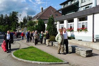 Photo: Auf dem Weg zum Apero / Sponsoren: Hotel Moosegg und GF