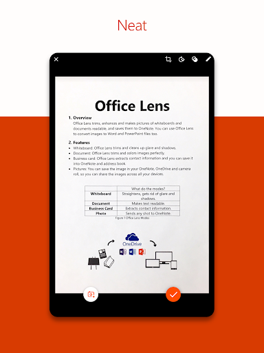 Office Lens screenshot 7