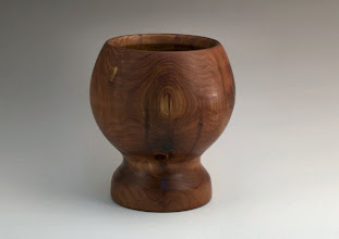 "Photo: Stan Sherman - Bowl - 6"" x 5"" - cedar (from Silent Auction)"