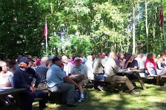 Photo: Et udsnit af den lyttende forsamling