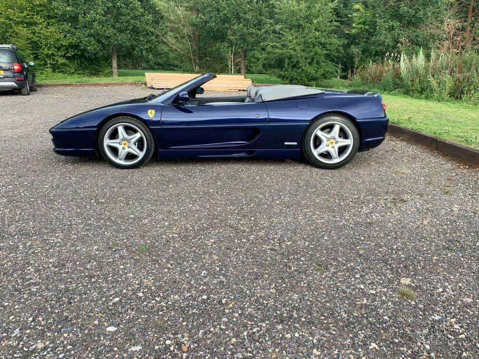 Ferrari F355 Spider Hire Huddersfield