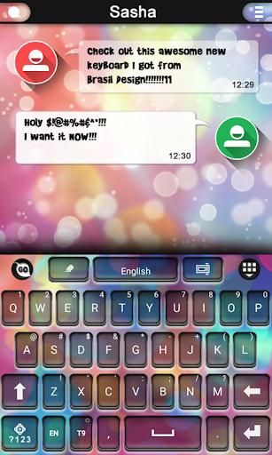 Multicolor keyboard