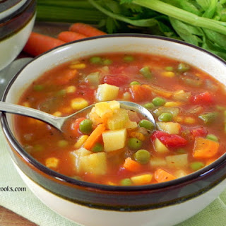 Homemade Chicken Vegetable Soup Recipes
