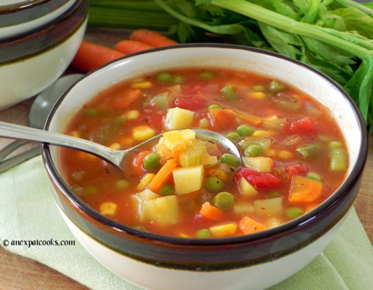 Homemade Vegetable Soup Recipe