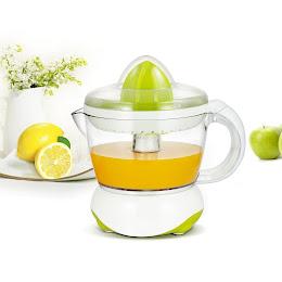 Storcator electric citrice 25W, 2 viteze, 0.7 L, Alb/Verde