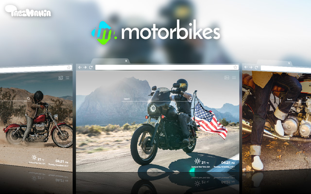 Dreamy Motorcycle Wallpapers New Tab