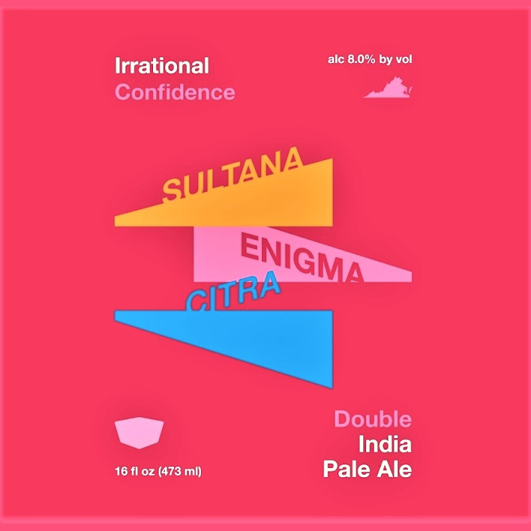 Logo of Virginia Beer Co. Irrational Confidence