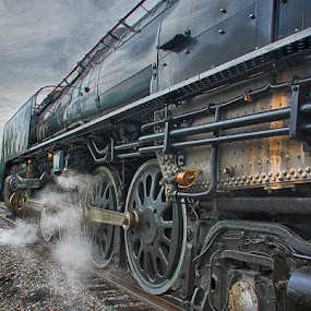 Union Pacific 844 by Ray Ebersole - Transportation Trains ( oklahoma, tour, trains, steam )