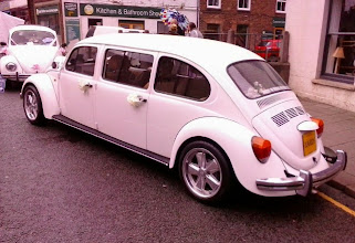 Photo: Okay as a wedding car,  but I think the rear engine precludes them from hearse duty.