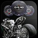 Superbike Clock Wallpaper HD icon