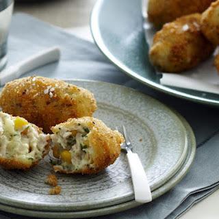 Chicken and Potato Croquettes.