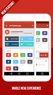 JM FileManager (File transfer, Vault, Cleaner)- screenshot thumbnail